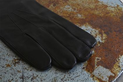 Italian army officer leather gloves dead stock_f0226051_11224647.jpg