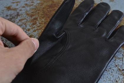 Italian army officer leather gloves dead stock_f0226051_11231343.jpg