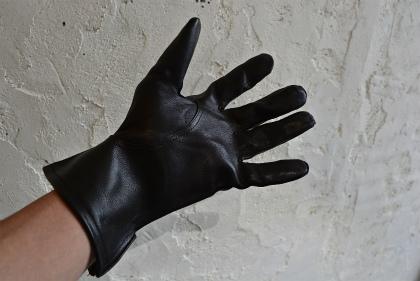 Italian army officer leather gloves dead stock_f0226051_11234730.jpg