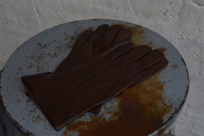 Italian army officer leather gloves dead stock_f0226051_11363841.jpg