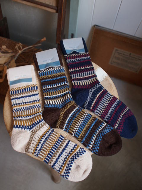 本日のoneday cafe・・・と靴下。_a0164280_14195595.jpg