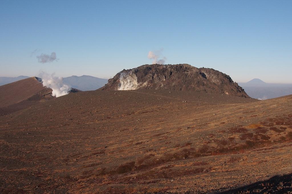 樽前山とイチャンコッペ山、10月23日-速報版-_f0138096_14233039.jpg