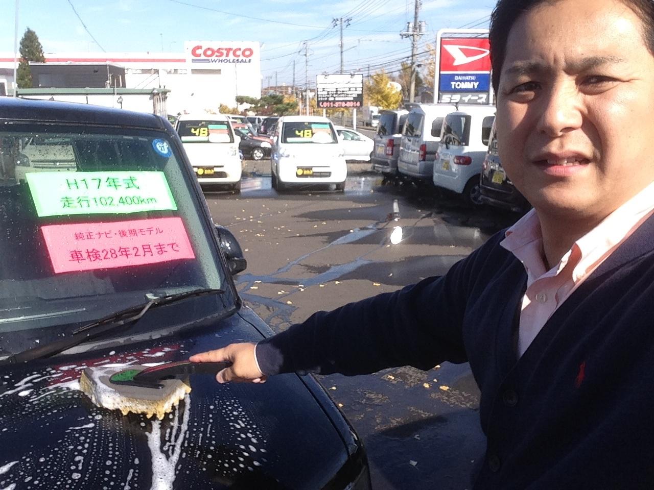 10月24日(金)トミーアウトレット☆グッチーブログ♪納車祭り!!軽自動車♪100万以下車☆_b0127002_1829762.jpg