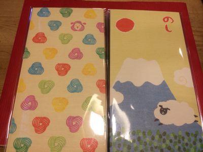 来年の干支、ひつじのポチ袋と懐紙とクッキー型_a0262708_20161875.jpg