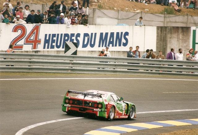【趣味】Flyslot Ferrari F40 LM (Le Mans24H 1996)_a0293131_8272999.jpg