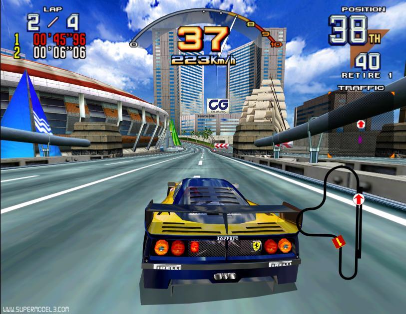 【趣味】Flyslot Ferrari F40 LM (Le Mans24H 1996)_a0293131_849212.jpg