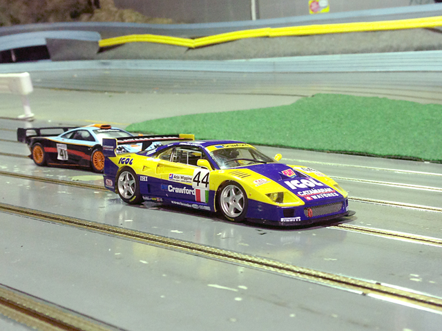 【趣味】Flyslot Ferrari F40 LM (Le Mans24H 1996)_a0293131_8543124.jpg