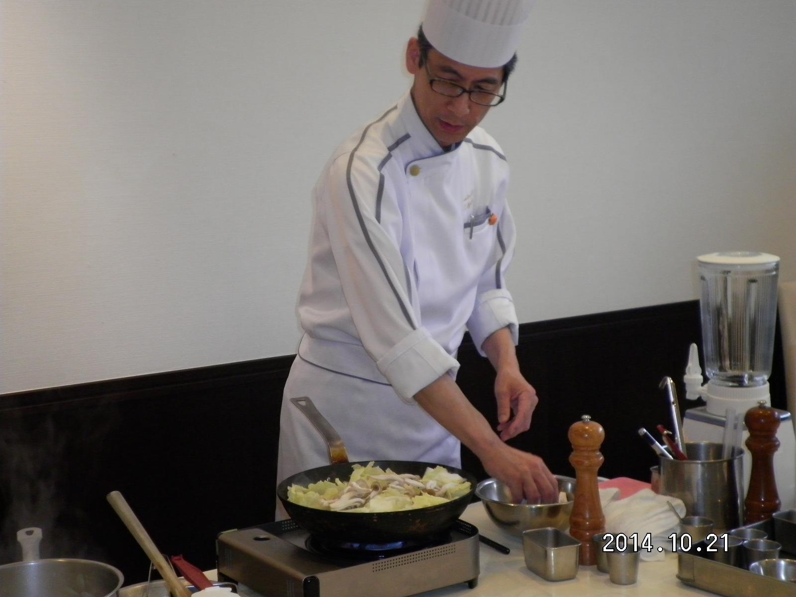 第44回お料理教室_e0190287_1634428.jpg