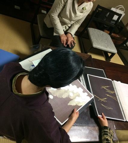 日仏刺繍対決!!ルサージュvs長艸_f0083294_14335875.jpg