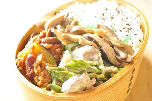 自家製シーチキン風サラダのお弁当_b0171098_159409.jpg