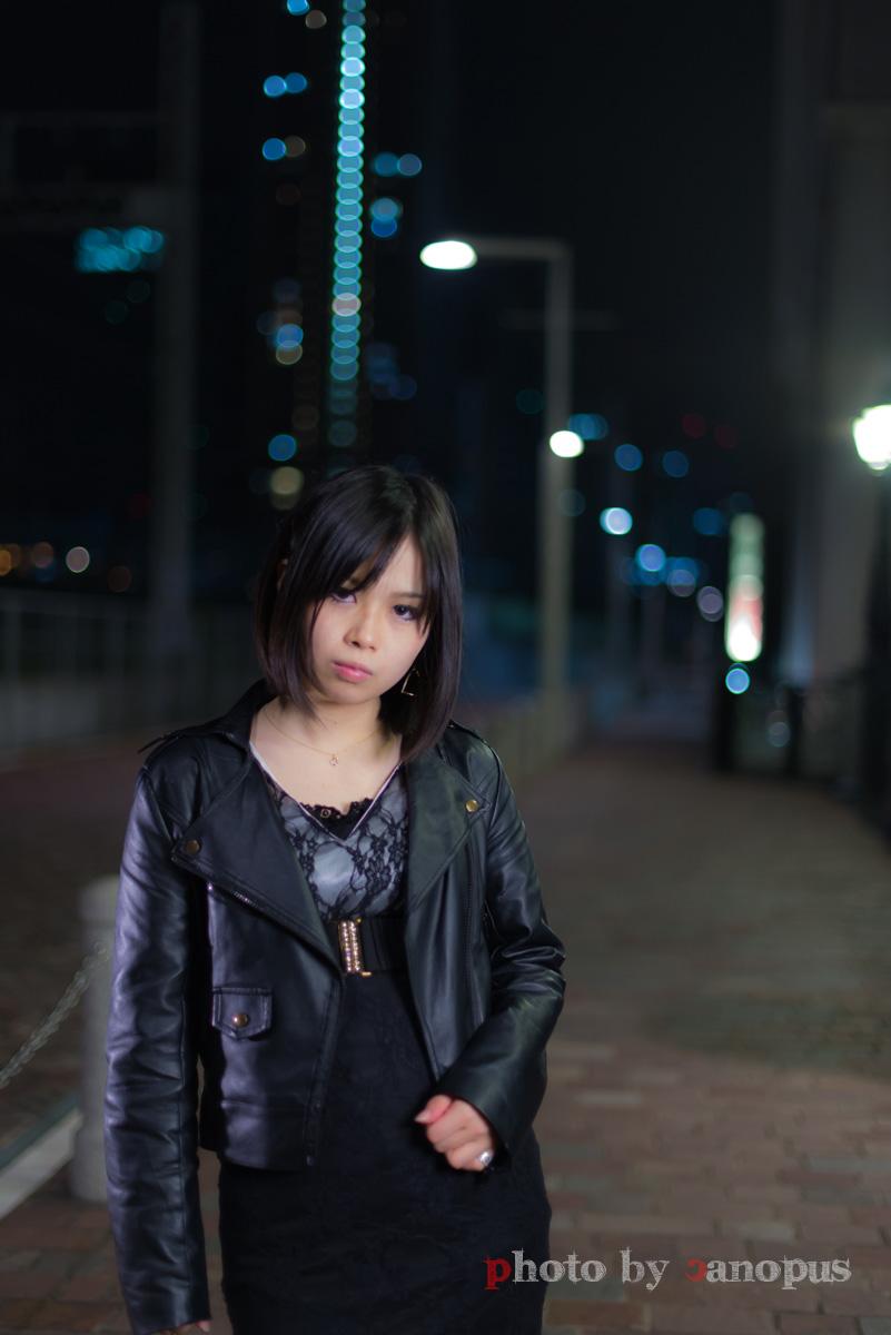 少し肌寒い夜の街 #1_e0196140_1644646.jpg