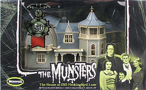 The Munsters\' House HO Scale Pre-assembled Model _e0118156_14462184.jpg