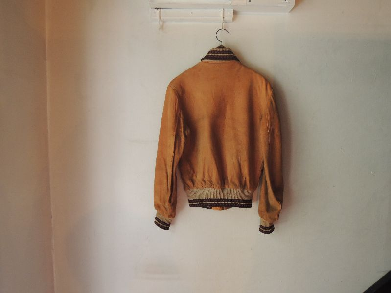 50S60S COLLEGETOWN NUBUCK LEATHER JACKET--RECOMMEND--_c0176867_206258.jpg
