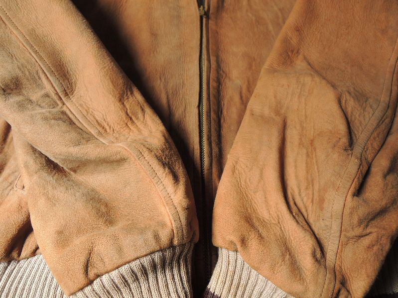 50S60S COLLEGETOWN NUBUCK LEATHER JACKET--RECOMMEND--_c0176867_208744.jpg
