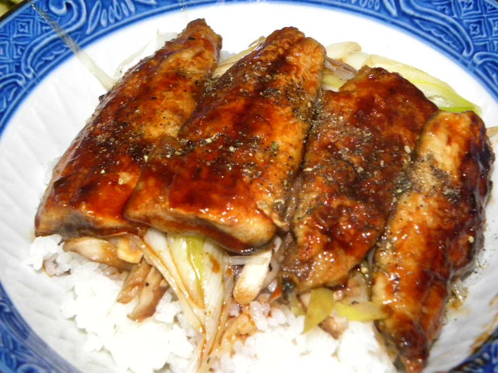 秋刀魚定食~秋刀魚丼_c0162773_12113478.jpg