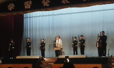 鹿島小の学習発表会_e0068696_18161759.jpg