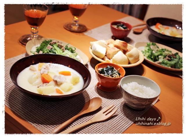 豚ひれだし〆と春菊のサラダ  と 東京国際映画祭で 『ベイマックス』_f0179404_18494897.jpg