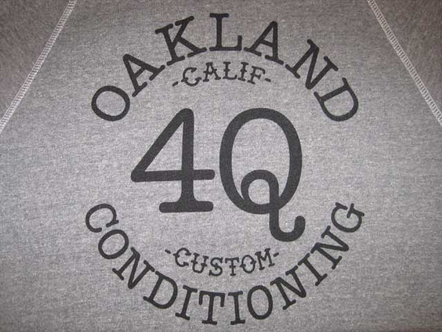 4Q CONDITIONING CREW & ZIP UP HOODY_c0140709_12331121.jpg