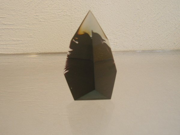 小口宗之さんのガラス 朱色片口とぐいのみ・ペーパーウエイト_b0132442_14102034.jpg