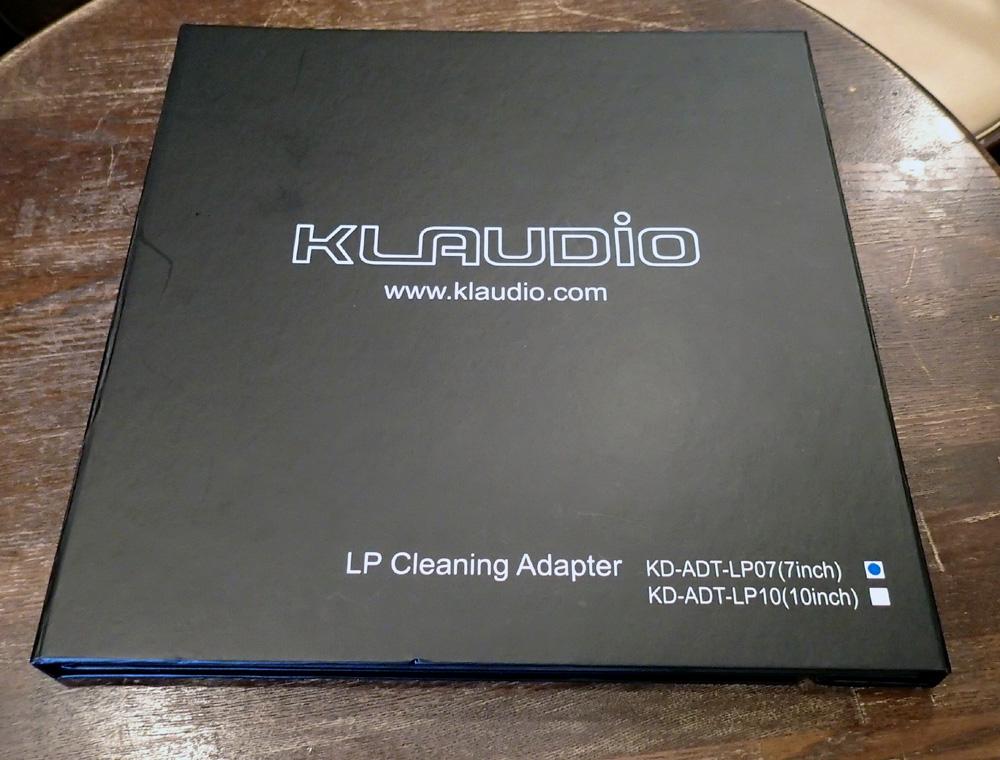 KLAUDiO CLN-LP200 超音波レコードクリーナー 店頭に入荷しました。_b0262449_2112405.jpg