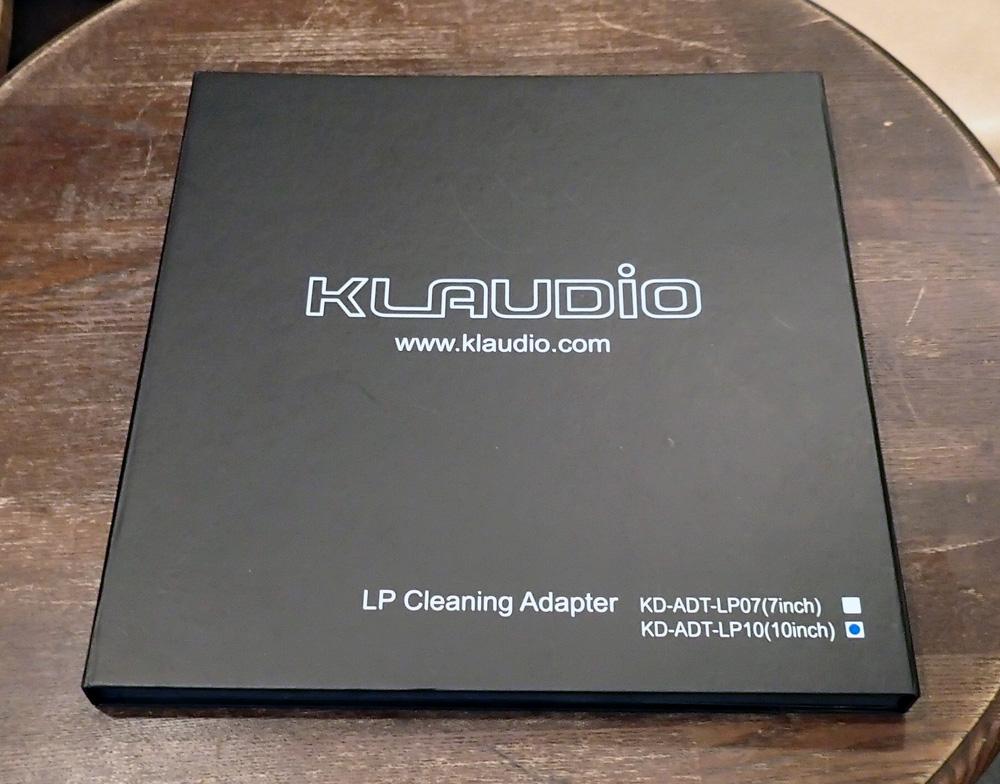 KLAUDiO CLN-LP200 超音波レコードクリーナー 店頭に入荷しました。_b0262449_21131023.jpg