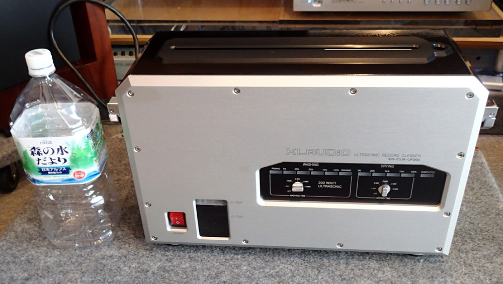 KLAUDiO CLN-LP200 超音波レコードクリーナー 店頭に入荷しました。_b0262449_21134419.jpg