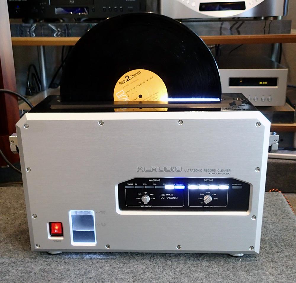 KLAUDiO CLN-LP200 超音波レコードクリーナー 店頭に入荷しました。_b0262449_21141561.jpg
