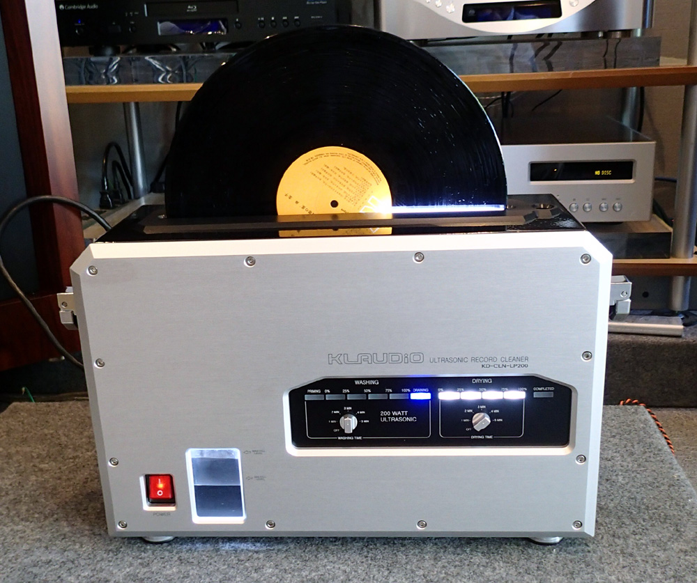 KLAUDiO CLN-LP200 超音波レコードクリーナー 店頭に入荷しました。_b0262449_21142147.jpg