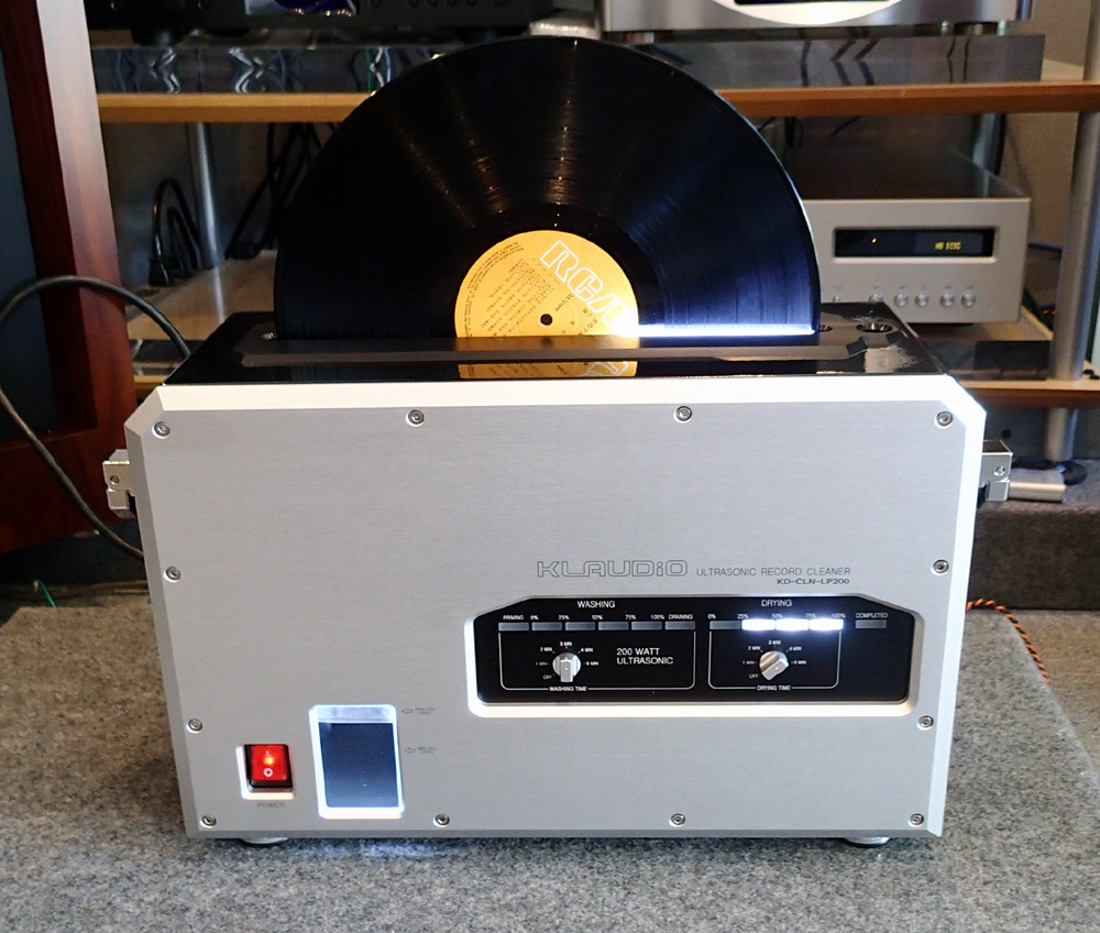 KLAUDiO CLN-LP200 超音波レコードクリーナー 店頭に入荷しました。_b0262449_2114279.jpg