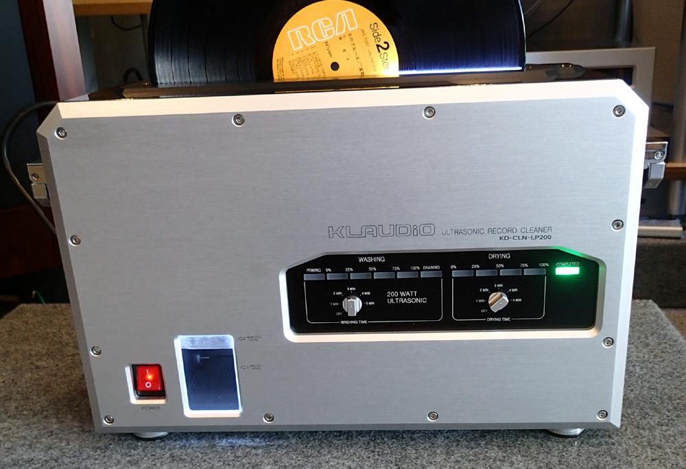 KLAUDiO CLN-LP200 超音波レコードクリーナー 店頭に入荷しました。_b0262449_2114342.jpg