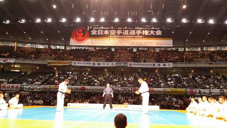全日本空手道選手権大会、2日目!_c0186691_2230542.jpg