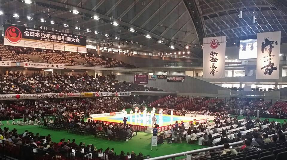 全日本空手道選手権大会、2日目!_c0186691_2232024.jpg