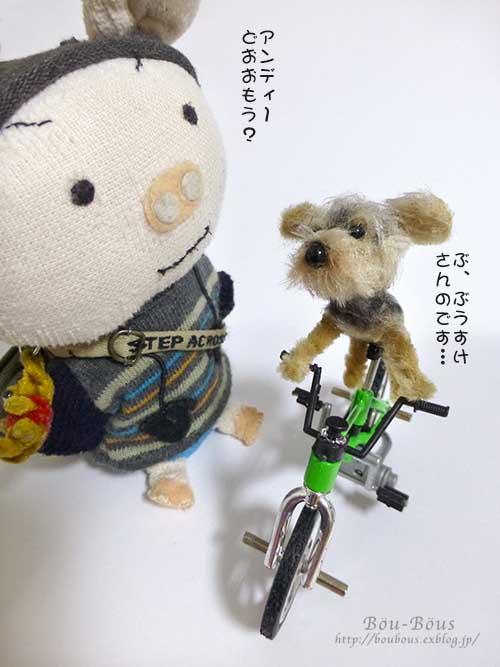 誰の自転車?_d0128697_0343740.jpg