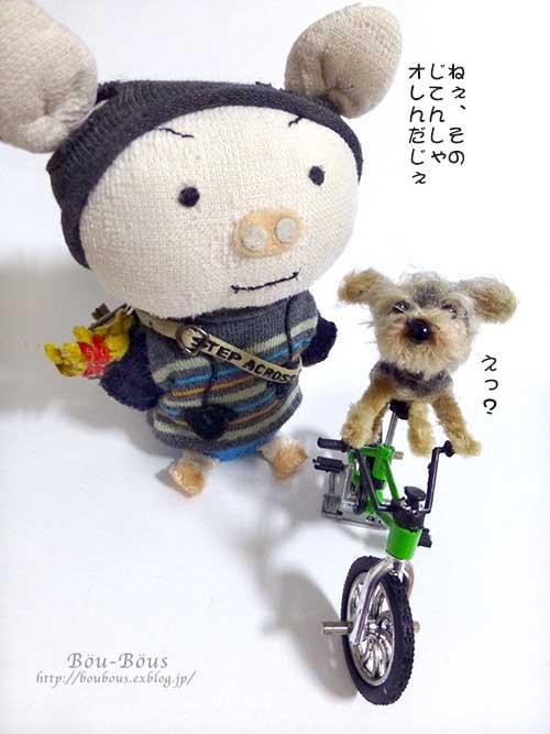 誰の自転車?_d0128697_0461110.jpg