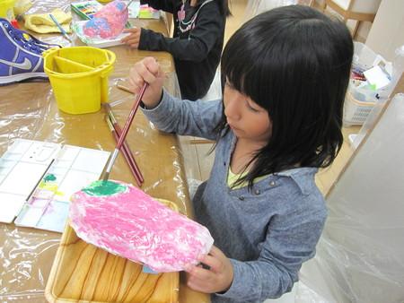 松井山手教室 ~張り子でくつ作り~_f0215199_14114279.jpg