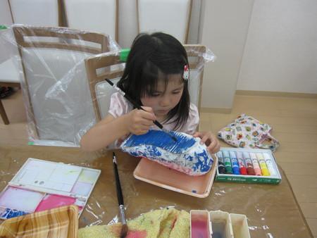 松井山手教室 ~張り子でくつ作り~_f0215199_14121151.jpg