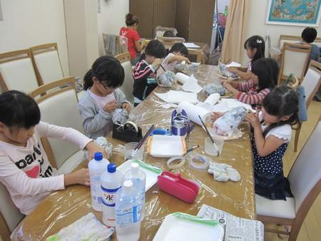 松井山手教室 ~張り子でくつ作り~_f0215199_1421725.jpg