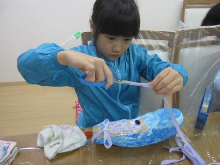松井山手教室 ~張り子でくつ作り~_f0215199_14263349.jpg