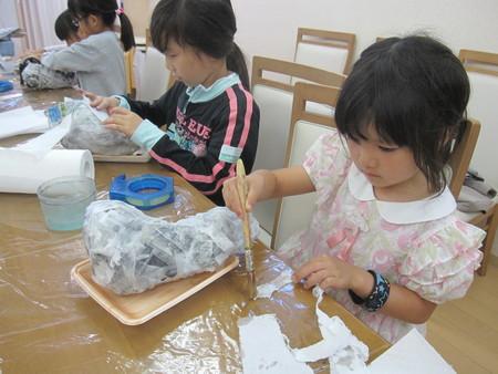 松井山手教室 ~張り子でくつ作り~_f0215199_1432681.jpg