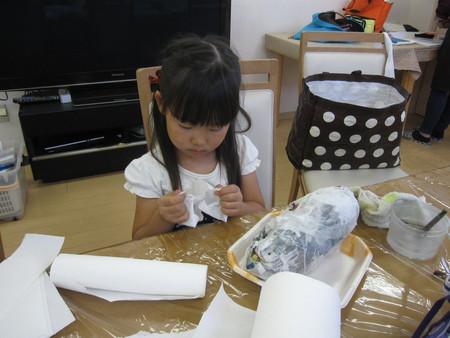 松井山手教室 ~張り子でくつ作り~_f0215199_1434164.jpg