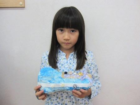 松井山手教室 ~張り子でくつ作り~_f0215199_14461771.jpg