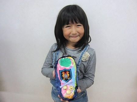 松井山手教室 ~張り子でくつ作り~_f0215199_14462948.jpg