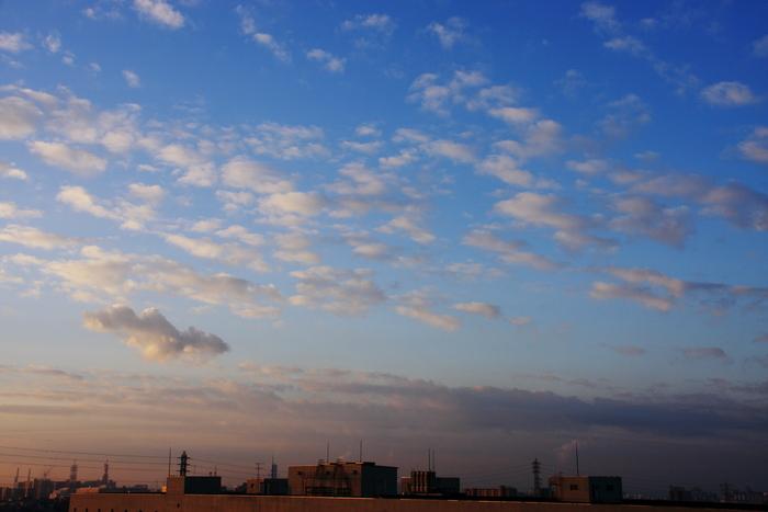 隙間雲 (高積雲)_b0268615_7315690.jpg