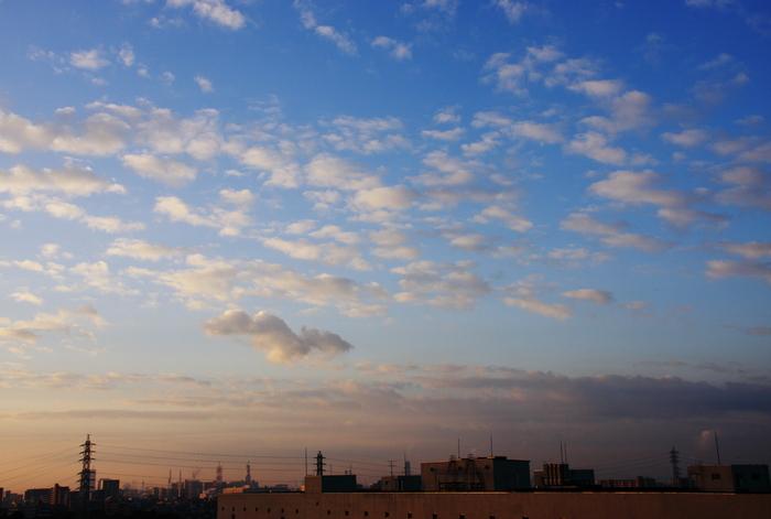 隙間雲 (高積雲)_b0268615_732225.jpg