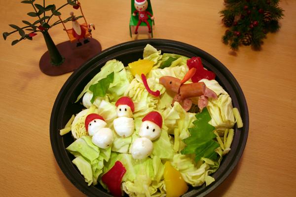 クリスマスデコ鍋♪_f0141419_07412218.jpg