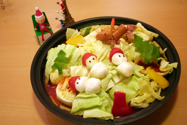 クリスマスデコ鍋♪_f0141419_07414556.jpg