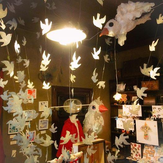 秋のわたぐも展&秋の京都のくりくり展_a0137727_00245958.jpg