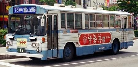 富山地方鉄道 三菱K-MP118M +呉羽_e0030537_22253461.jpg