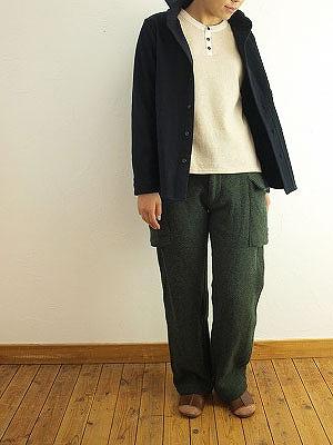 10/27 nisica ニシカ ワイドカラージャケット ネイビー入荷_f0325437_16313844.jpg