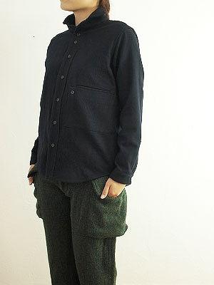 10/27 nisica ニシカ ワイドカラージャケット ネイビー入荷_f0325437_16321192.jpg